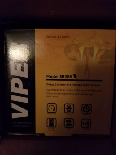 Viper 5806 Car Remote Start /Security/ 2- Way System/ Keyless Entry Viper 5806V