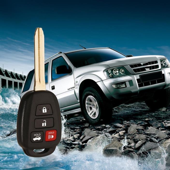 New Uncut Keyless Entry Remote Head Key Fob HYQ12BDM for Toyota Camry LB6Y 01