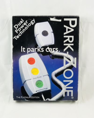 PARK ZONE Garage Parking Aid PZ-1500 Dual Power Technology