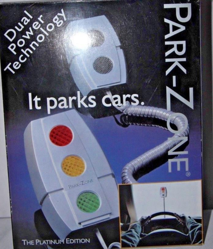 PARK ZONE The Platinum Edition Model  PZ-1500 Parks Cars In Garage Easy Guide