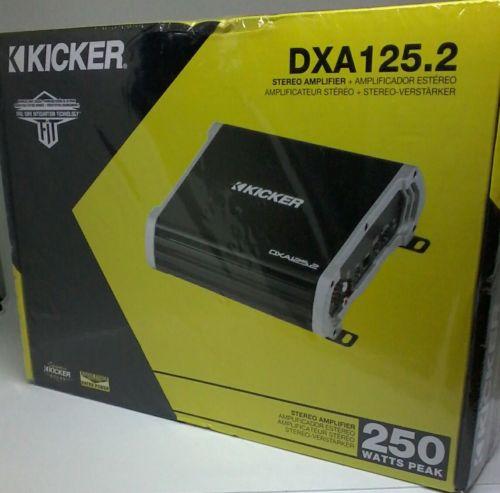 Kicker 43DXA125.2 125-Watt 2-Channel Full-Range Car Amplifier