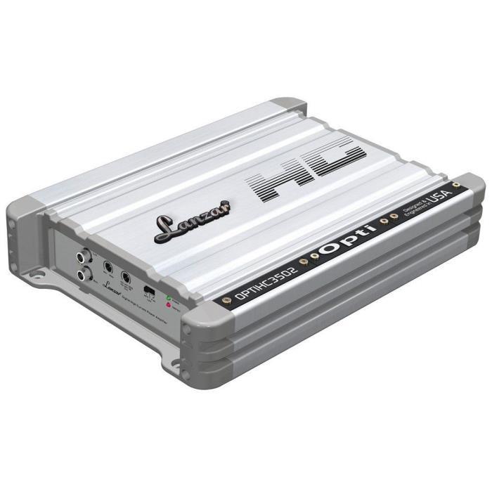Lanzar OPTIHC3502 2 Channel Digital High Current Full Range Power Amplifier -NEW