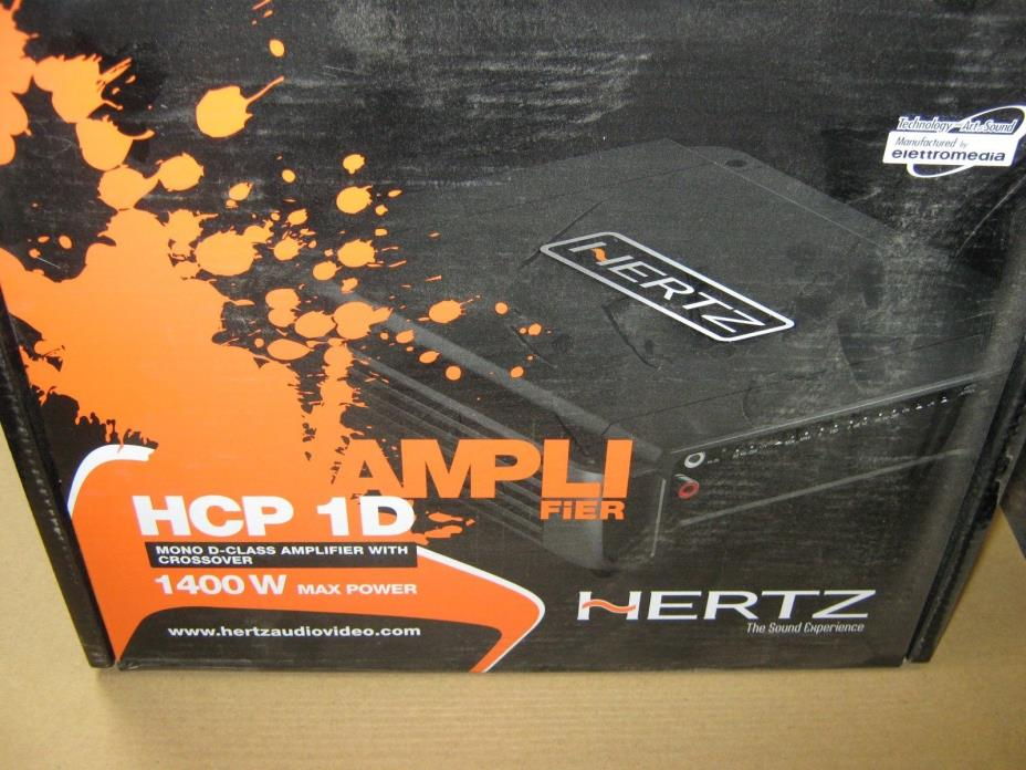 Hertz HCP1D Amplifier