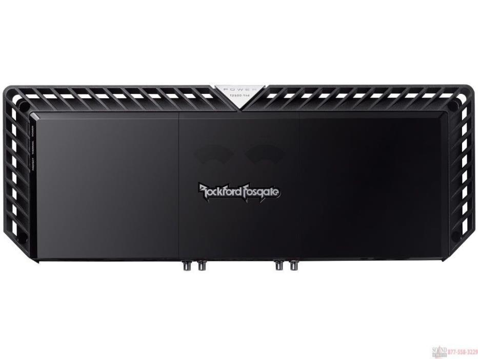 *BRAND NEW* ROCKFORD FOSGATE T2500-1bdCP 3200 WATTS RMS SUBWOOFER AMPLIFIER