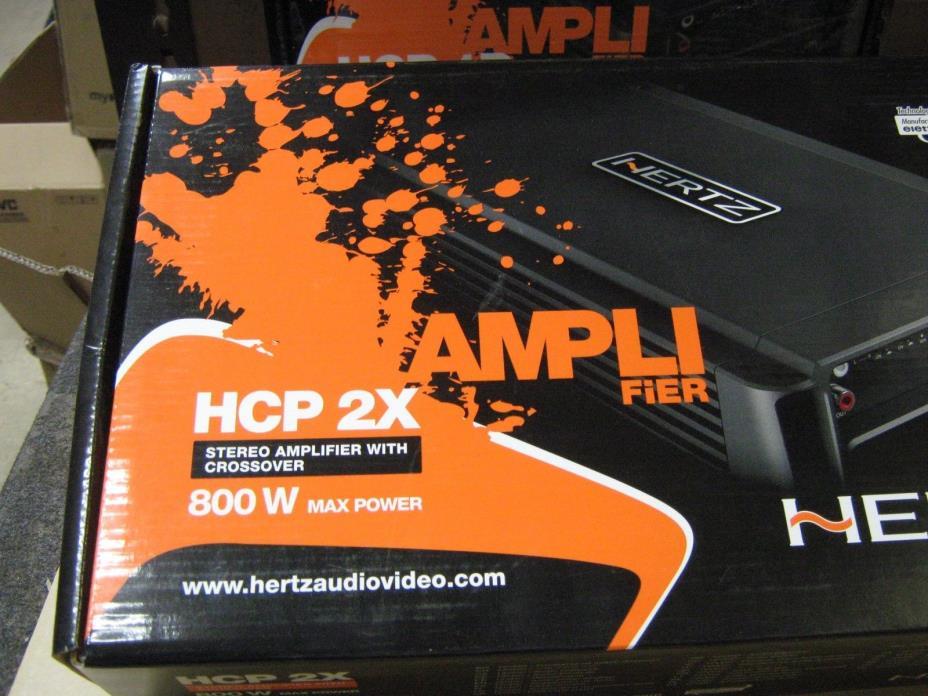 Hertz HCP2X Amplifier