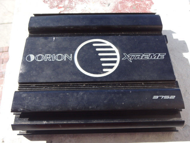Orion Xtreme 3752 2 Channel Amplifier,Amp, Used