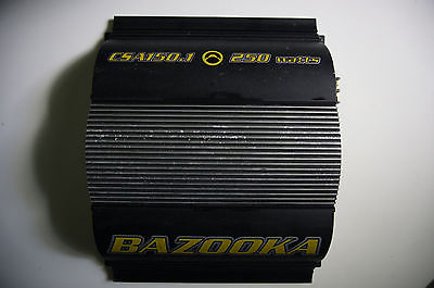 Bazooka car audio CSA150.1 CS amplifier 150w Mono  As Is