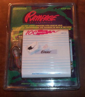 Rampage 100 watt Amplifier