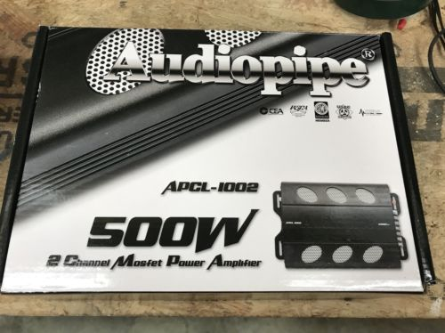 Audiopipe 2 channel 1000w mosfet power Amplifier