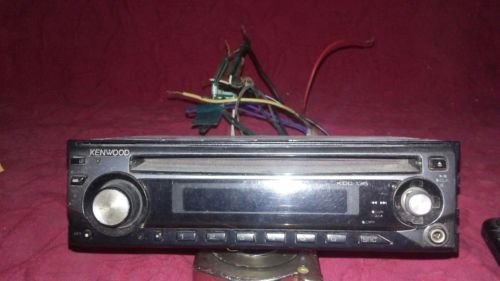 Kenwood car CD player with Remote o
