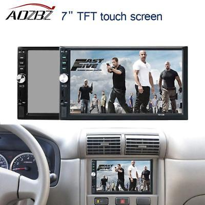 Video Touch Screen Bluetooth MP5 Player 12V Car Audio FM USB SD AUX IN Support R