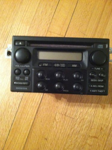 98 99 00 01 02 Honda Accord AM FM CD Radio Model 39100-S84-A210
