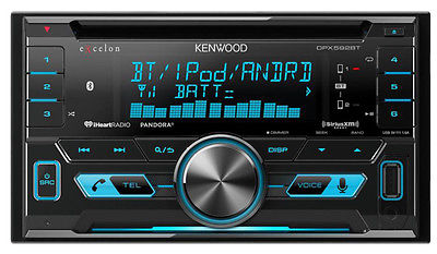 Kenwood DPX592BT In Dash Double Din CD Receiver with Bluetooth