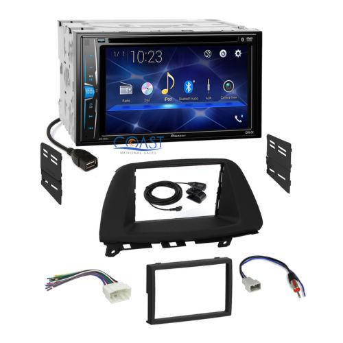 Pioneer 2018 DVD Bluetooth Stereo Dash Kit Harness for 2005-2007 Honda Odyssey