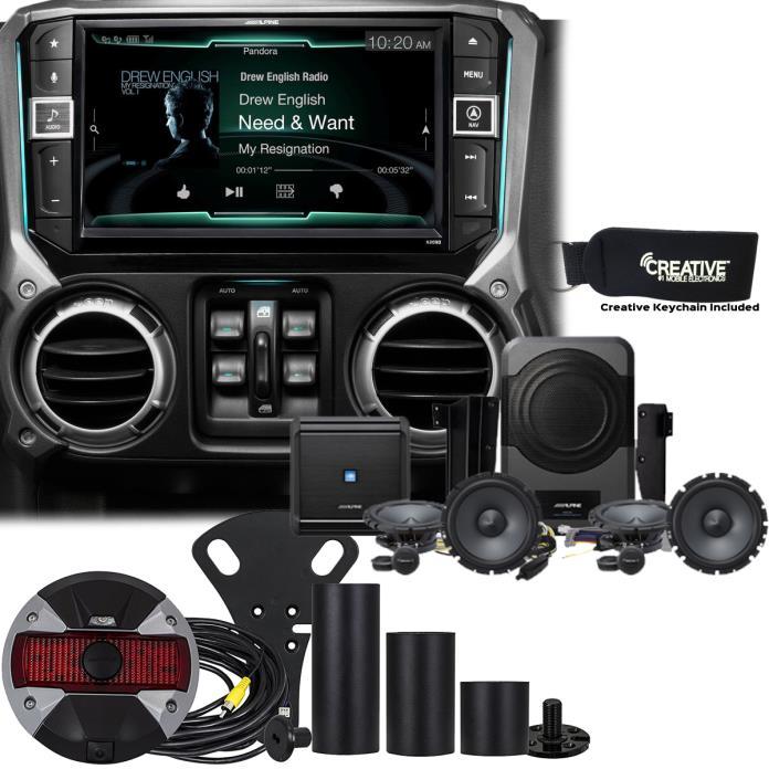 Alpine Restyle - X209-WRA 9