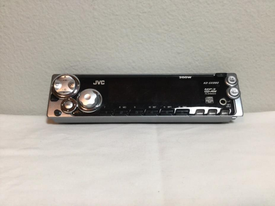 JCV 200W  MP3 CD-RW Radio Stereo *FacePlate* & Carring case