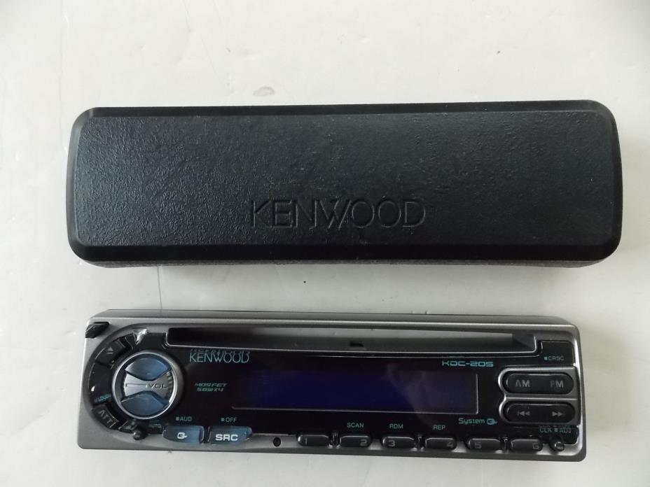 Kenwood KDC-205 CD Receiver Detachable Faceplate, Replacement Face-Plate