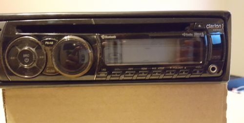 Clarion CZ501 - Head Unit, Faceplate, Sleeve and Manual
