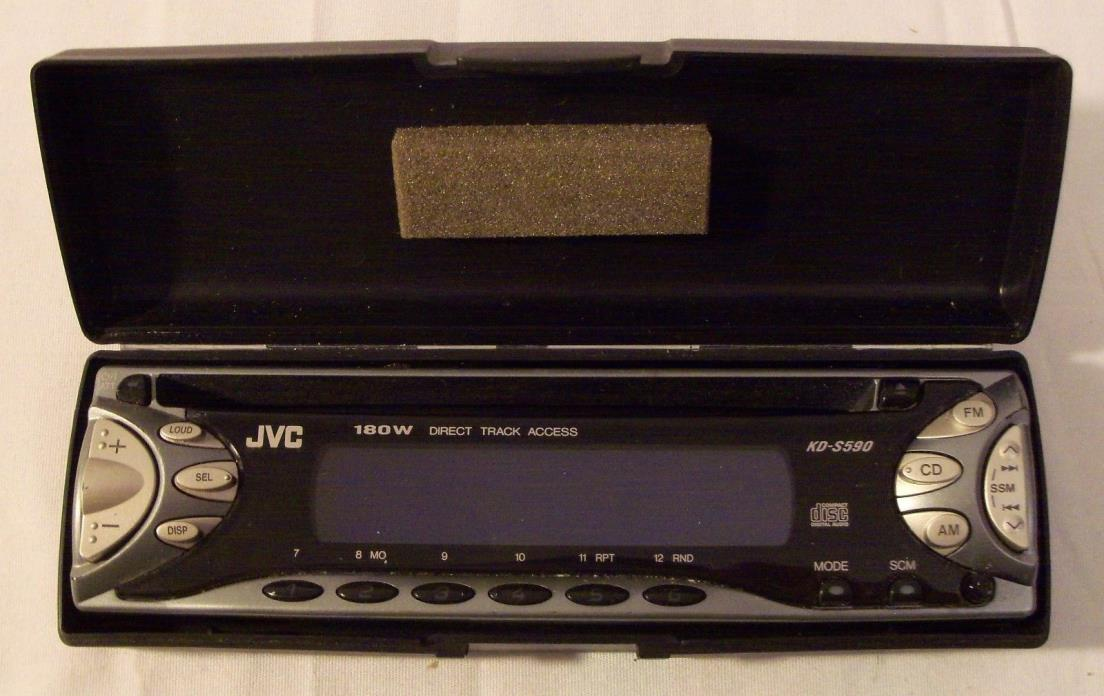 JVC KD-S590 Faceplate w/case