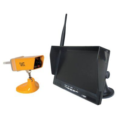 Swift Hitch SH01A - Swift Hitch Wireless 7 inch LCD with extended antenna Camera