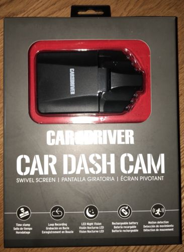 Car and Driver CDC-599 1080p HD Car Dashboard Video Recorder Camera