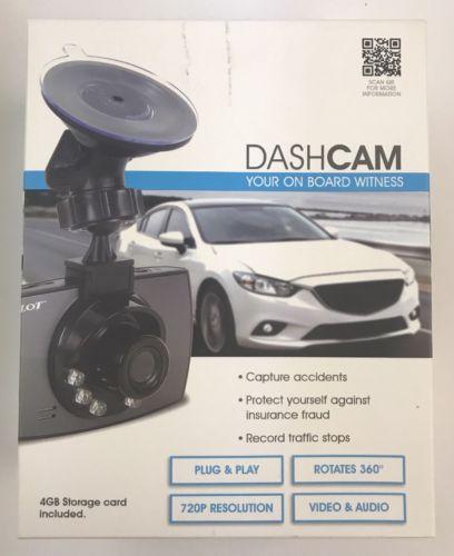 New Pilot Dash Cam Dashboard Camera w/ Night Vision/Audio CL-3022WK