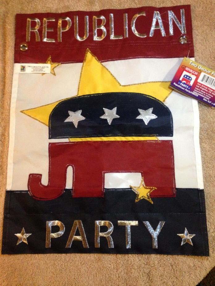Republican Party GOP, garden flag 13.5