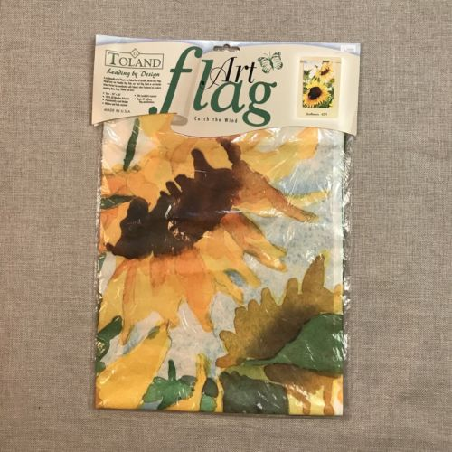 Toland Art Flag Sunflowers 24