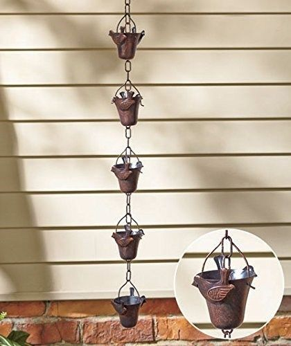 Decorative Iron Bird Rain Chain, New, Free Shipping