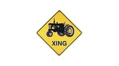 Tractor XING Sign (Crossing Sign)