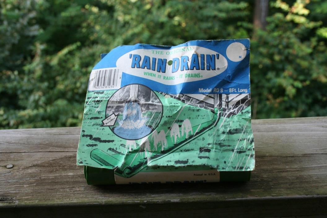 Vintage Deluxe Rain Drain *New with original packaging!*