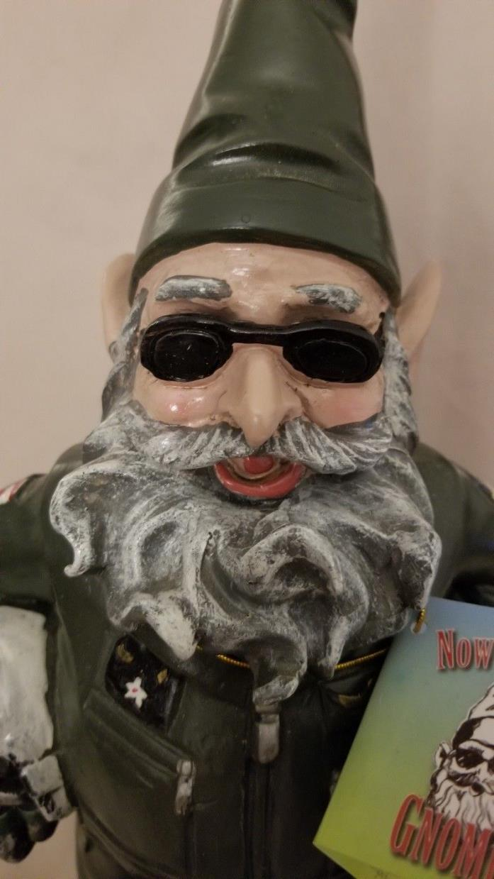Now a Day Gnome - Air Force Gnome
