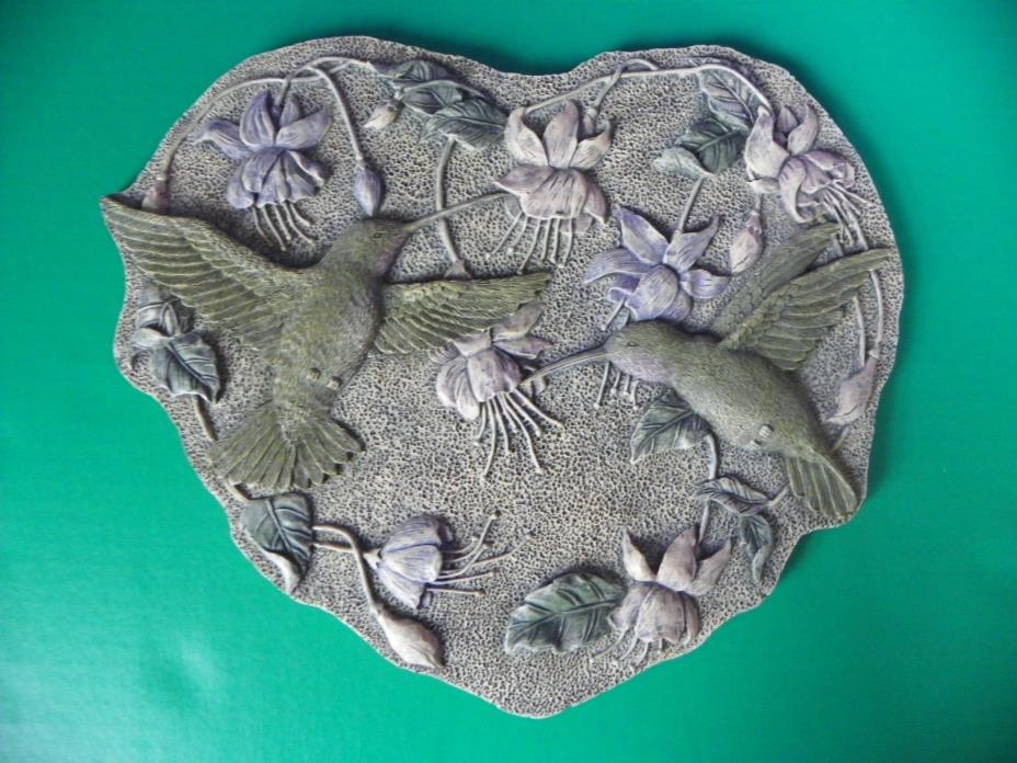 Heart Shaped Hummingbird Stepping Stone