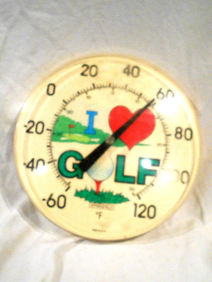 Vintage Springfield Outdoor Thermometer