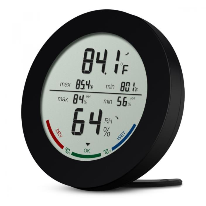 AMIR Indoor Hygrometer Thermometer, Digital Temperature and Humidity Monitor, Hu