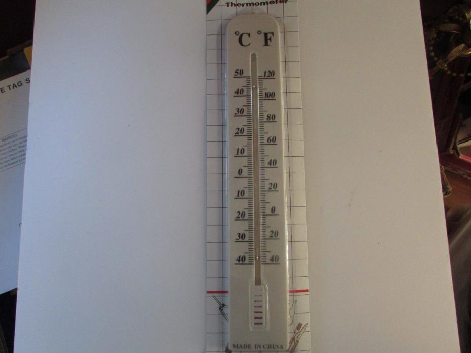 LOT OF 12 JUMBO THERMOMETERS OUTDOOR/INDOOR USE 15.5
