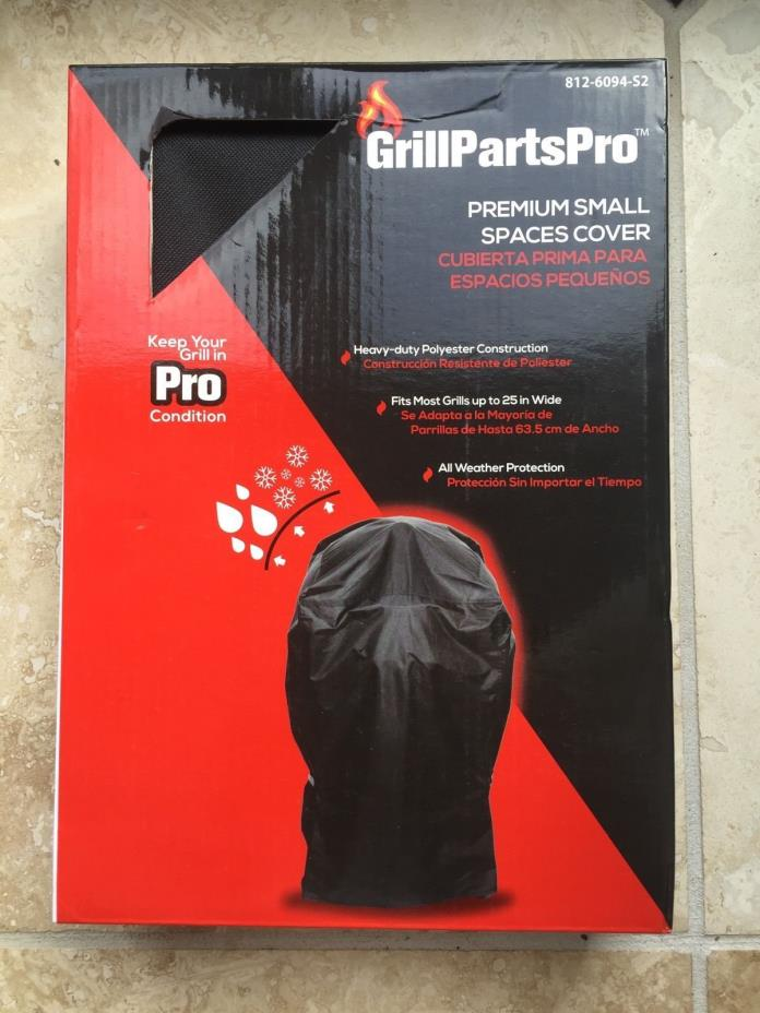 Brinkmann GrillPartsPro Premium Small Spaces Cover Up to 25