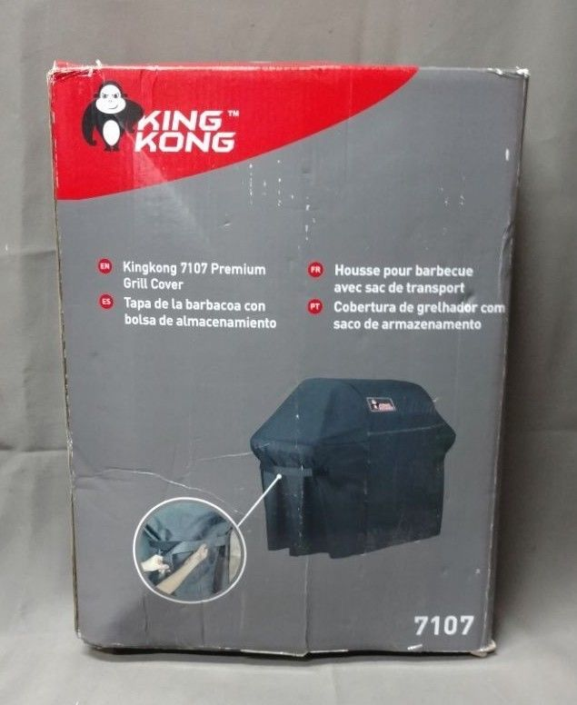 Kingkong 7553 | 7107 Gas Grill Cover Kit for Weber Genesis E and S Series Grill