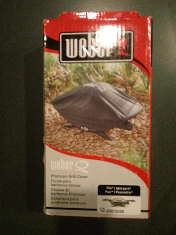 NEW in box Weber 7111 Grill Cover for Q 200/2000 Series Gas Grills
