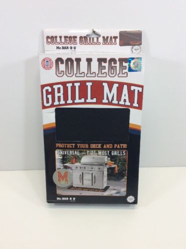 Collegiate 15016MDGD Maryland Terrapins Grill Mat Mr. Bar B Q  48 in x 30 in