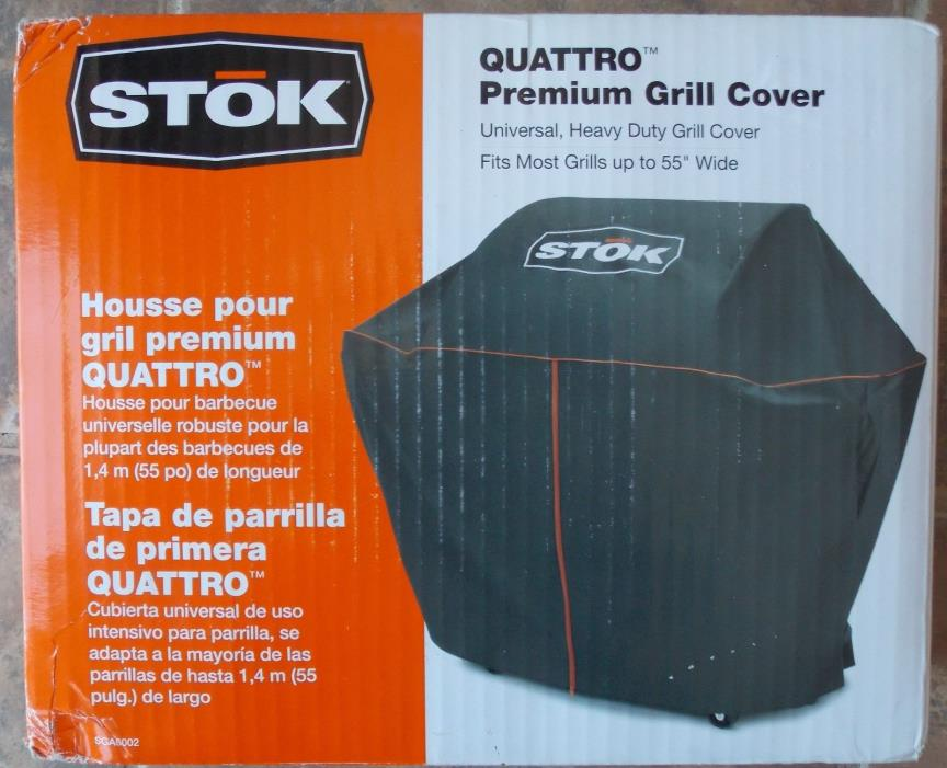 STOK Quattro Premium Grill Cover ~ NEW SGA6002 Grills up to 55