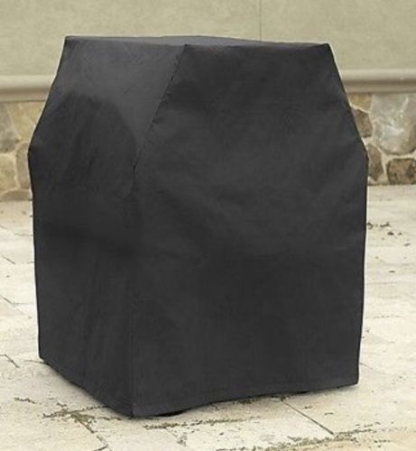 Black Grill Cover Waterproof Vinyl Polyester Durable Fabric 30