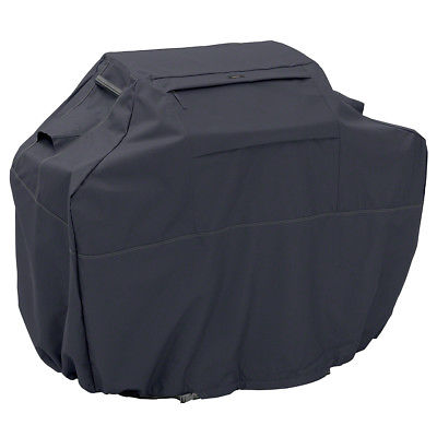 Classic Accessories 55-390-030401-EC Black Ravenna BBQ Grill Cover - Medium