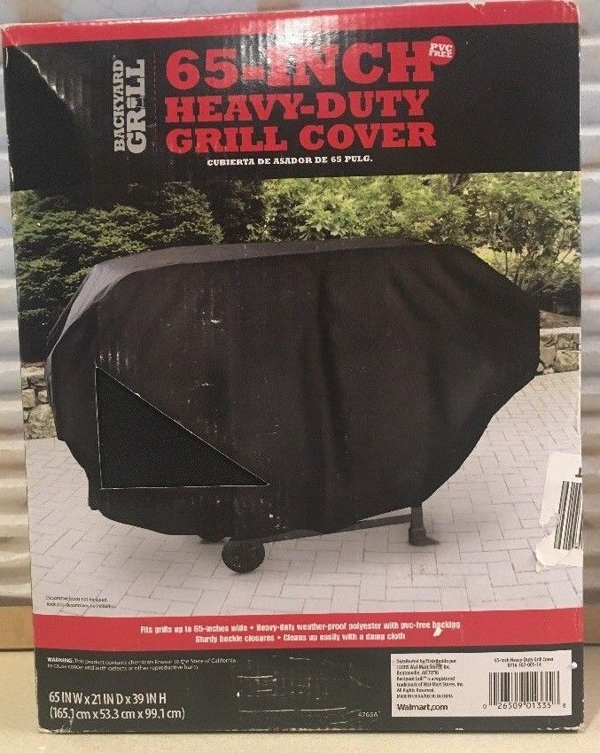 Backyard Grill 65-Inch Heavy-Duty Grill Cover Barbecue Grill Cover #4765A
