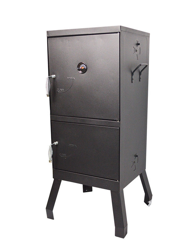 Charcoal Smoker Wood Chips BBQ Grill Cooker Heater Traditional Style Smoker