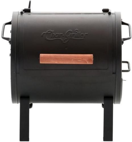 Char-Griller Portable Table Top Charcoal Grill / Side Fire Box Cast Iron New