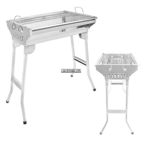 New Foldable Stainless Steel Barbecue Charcoal Grill BBQ Portable MY8L
