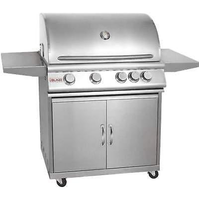 Blaze Freestanding Propane Gas Grill, 32