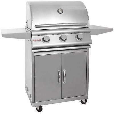 Blaze Freestanding Natural Gas Grill, 25
