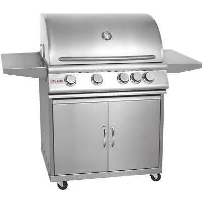Blaze Freestanding Natural Gas Grill, 32